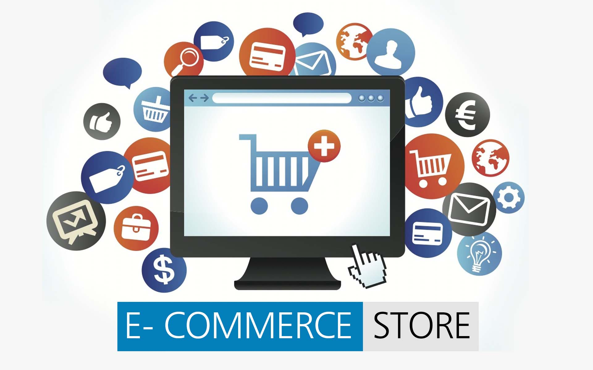 E Commerce Site designing