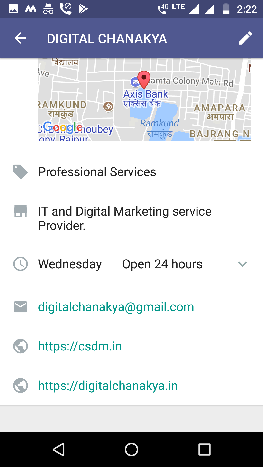 whtsapp for business screenshot